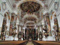 Basilika-Ottobeuren-Hauptschiff