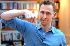 What are you pointing at Tom? lol