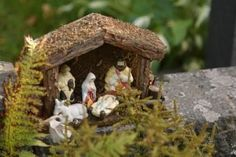 Add moss to creche