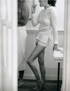 i want this...partly because you are naked under that towel and partly cause i get to use your toothbrush!:)
