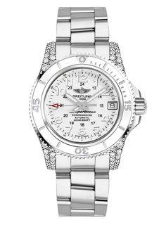 Breitling Superocean II 36 Womens Luxury Watch A1731267-A775-179A. Luxusní  Hodinky fcf4722e2b