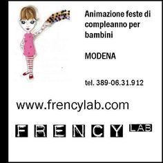 FRENCY - Animazione feste di compleanno per bambini a Modena