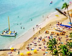 Not only do I love tilt shift, I also want to be there...