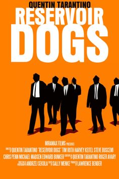 "Reservoir Dogs - directed by Quentin Tarantino (1992). Mr. Orange, you are super cool, but my fav still be Mr. Pink. Stealers Wheel ""Stuck in the Middle with You"" - best torture song ever! <3"