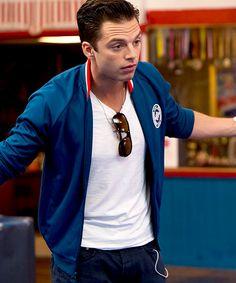 Sebastian Stan (The Bronze)<< I never wanna watch this movie like EVER but I wanna watch it. It's a dilemma