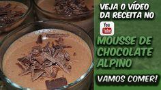 Mousse De Chocolate Alpino! Ficou extremamente com gosto de Alpino, sem comentários! Demais! Corre lá pra ver a receita e o preparo ==> bit.ly/Eduardo_Sachs Se inscrevam no meu canal do YouTube e compartilhem a receita!!!