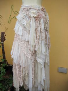 RRESERVEDvintage inspired extra shabby cotton wrap by wildskin
