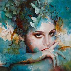 Resultado de imagem para imagem de pintura de Dominik Jasinski
