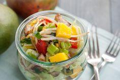 Slanke kip mango salade van Jasper Alblas - Goed Eten Gezond Leven