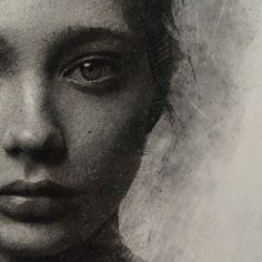 Casey Baugh #chacoral #drawing #portrait #pencil #art