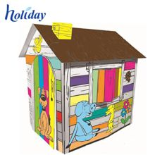 Cardboard Playhouse, Cardboard Playhouse direct from Shenzhen Holiday Package&Display Co. in China (Mainland) Cardboard Playhouse, Cardboard Toys, Cardboard Furniture, Cardboard Fireplace, Shop Work Bench, Fireplace Furniture, Metal Fabrication, Shenzhen, Play Houses