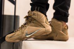 "Releasing: Nike LeBron 12 EXT ""Wheat"""
