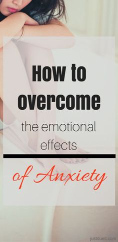 Learn how to manage the emotional effects of anxiety and take control of your happiness. Anxiety can be hard to handle. Try these tips to relieve anxiety fast.