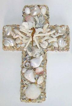 Sea Shell Cross