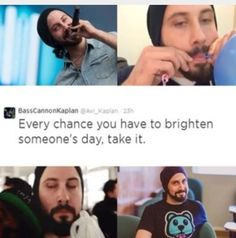 Don't take much for you, Avi. You literally show up somewhere and people scream and cheer.