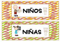 Menta Más Chocolate - RECURSOS PARA EDUCACIÓN INFANTIL: Carteles a color para el ASEO