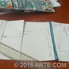 Artesanato em tecidos, moldes e passo-a-passo de bolsas, carteiras e afins