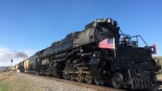Union Pacific Big Boy #4014 and UP #844 from Ogden, Utah to Rock springs, Wyoming - YouTube