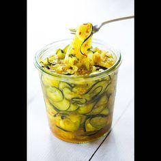 Pickles de courgette