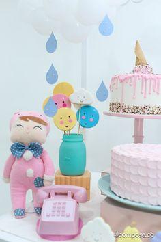 Festa Metoo Doll – comemoração mesversário | Macetes de Mãe