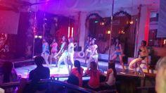 Filipina showgirls inside Tao Showbar on Fields Avenue Balibago Angeles City Philippines #nightlcub #fields #avenue #walkingstreet