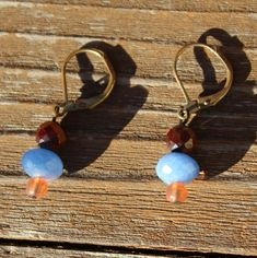 Great Stylish blue/red/orange Earrings from Vintage by JabberDuck Geek Gifts For Him, Best Gifts For Men, Blue Drop Earrings, Orange Earrings, Cheap Earrings, Women's Earrings, New Boyfriend Gifts, Bohemian Style Jewelry, Boho Style