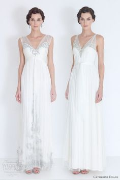 catherine deane bridal 2012 godiva francis wedding dresses illusion straps