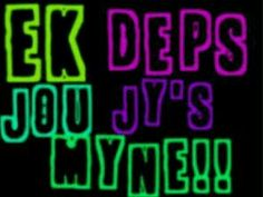 Ek deps jou. Jy's MYNE!! Happy Quotes, Positive Quotes, Afrikaanse Quotes, Love Quotes For Him, Qoutes, Positivity, Neon Signs, Songs, Boss Wallpaper