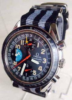 Resultado de imagem para Omega Speedmaster Mk 40 Crono 8 Ponteiros Triple Date