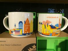 Starbucks Stockholm You Are Here