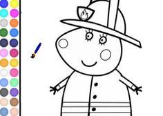 JuegosdePeppacom  Juego Colorear Susy Sheep Pintar Dibujos