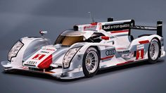 It's a diesel, hybrid and very amazing.    The R18 e-tron quattro is the world's first all-wheel-drive diesel hybrid endurance racer, and it is heading to LeMans this June.