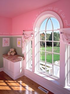 Little girls room, pink