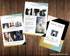 Photography Flyer Template  Photography Marketing Flyer  Instant