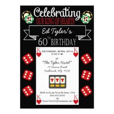 Get Free Printable 60th Birthday Party Invitations
