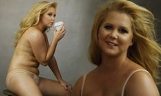 Amy Schumer poses topless for Annie Leibovitz's 2016 Pirelli Calendar
