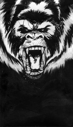 _mad_gorilla__by_marco_itri-d5sojaz.jpg (1024×1779)