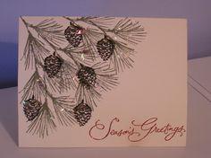 Watercolor Winter X-Mas Card