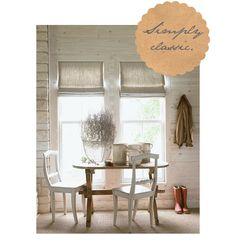 Birch + Bird Vintage Home Interiors » Blog Archive » The Roman Shade