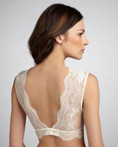 La Perla Belle = under allllll my cream silk shirts!!! :)