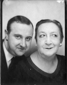 ** Vintage Photo Booth Picture **   Love these two - wish there was more of them!