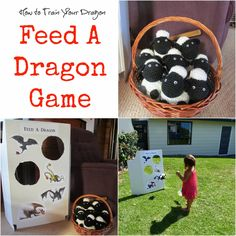 Knot Your Nana's Crochet: How to Train Your Dragon Party Idea's