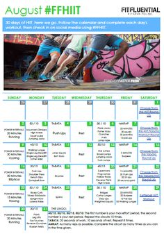August FitFluential