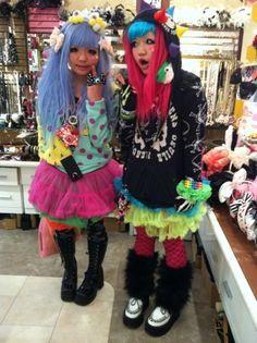 Harajuku on Pinterest | Harajuku Girls, Japanese Street Fashion ...