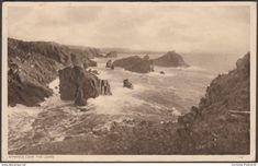 Kynance Cove, The Lizard, Cornwall, 1949 - Postcard