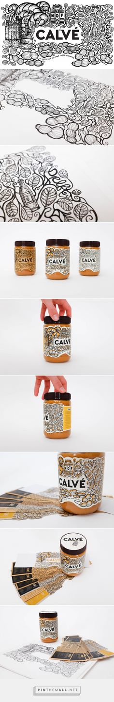Calvé Peanut Butter (Student Project) - Packaging of the World - Creative Package Design Gallery - http://www.packagingoftheworld.com/2017/03/calve-peanut-butter-student-project.html