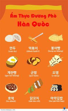Cũng giống như ở Việt Nam ẩm thực đường phố là một phần không thể thiếu được của đất nước Hàn Quốc và nếu bạn đã đi du lịch Hàn Quốc hoặc sống và làm việc ở đây bạn sẽ có thể nhìn thấy các xe thực phẩm đường phố và lều khá nhiều ở khắp mọi nơi và giá thường rất rẻ . Tôi muốn cược rằng 90 %... Xem thêm: http://tourdulichhanquoc.info/20-mon-an-duong-pho-han-quoc-pn.html