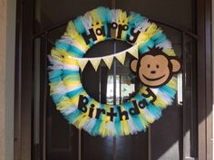 Mod Monkey Birthday Party Ideas | Photo 1 of 43 | Catch My Party