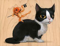 "Cuddly Rigor Mortis ""Fred & Ginger Print"""