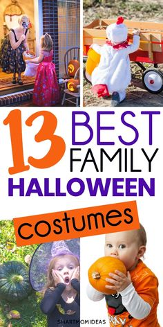 Family Halloween costumes with baby, toddler, kids or boys! Pick from 13 iconic and cute and funny family Halloween costumes for three or four that your entire family will love! Best halloween costumes for families, kids, toddlers and babies! Family Costumes, Baby Halloween Costumes, Mom Costumes, Twin Halloween, Toddler Costumes, Halloween Snacks, Holidays Halloween, Costumes For Women, Halloween Party